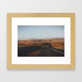 Cape Golden Hour Framed Art Print