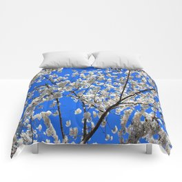 Cherry Blossoms in DC Comforters