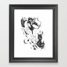 Conquest Framed Art Print