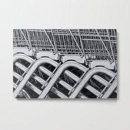 Go Shopping... Metal Print