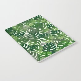 Exotic Palm Leaf Pattern Notebook