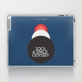 2001 a Space Odyssey, Stanley Kubrick alternative movie poster, dark blue  classic film, cinema love Laptop & iPad Skin