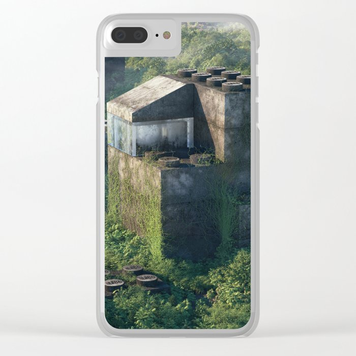 Childhood Memories Clear iPhone Case