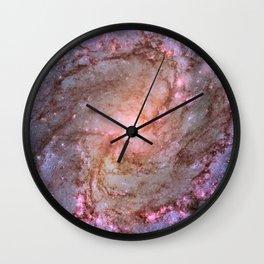 Spiral Galaxy M83 Wall Clock