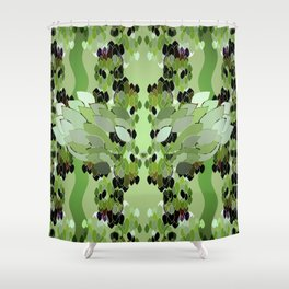 Rainforest Eye Shower Curtain