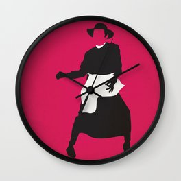 Qua la Mano Wall Clock
