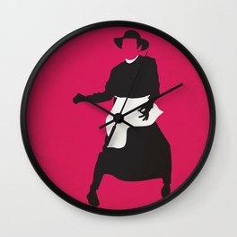 Qua la Mano Wall Clock