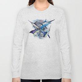 Canyon Masters Billfish Skull Design Long Sleeve T-shirt