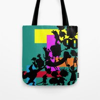 90s Tote Bags featuring The 90s by Grace Billingslea