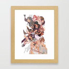 the present Framed Art Print