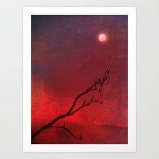 Into the night Art Print