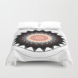 Mandala blossom / centro Duvet Cover