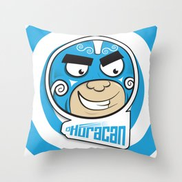EL HURACAN... Throw Pillow