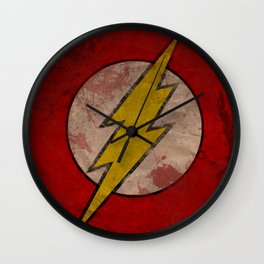 Remember The Flash Wall Clock