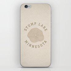 Stump Lake iPhone & iPod Skin