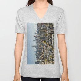 New York City from Tribeca. Unisex V-Neck