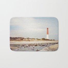 Barnegat Lighthouse Long Beach Island New Jersey Shore, Old Barney Light house LBI Bath Mat