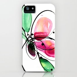 Ecstasy Bloom No. 2 by Kathy Morton Stanion iPhone Case
