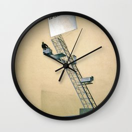 Lenin Tribune - El Lissitzky Wall Clock