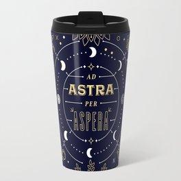 Ad Astra Per Aspera Travel Mug