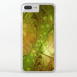 Hope, Abstract Fractal Art Clear iPhone Case