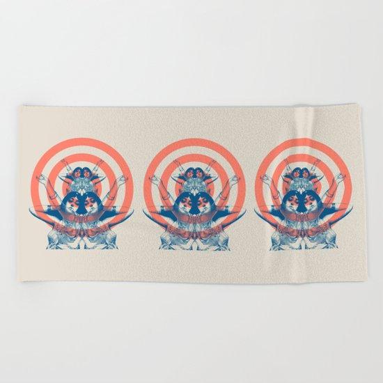 Space Ritual Beach Towel