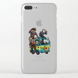 The Massacre Machine Clear iPhone Case