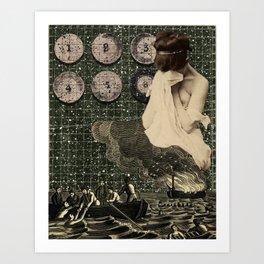 Mourning the loss of Joseph Cornell Art Print