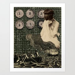 Mourning the loss of Joseph Cornell Art Print