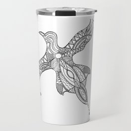 Nothing is just black or white Travel Mug