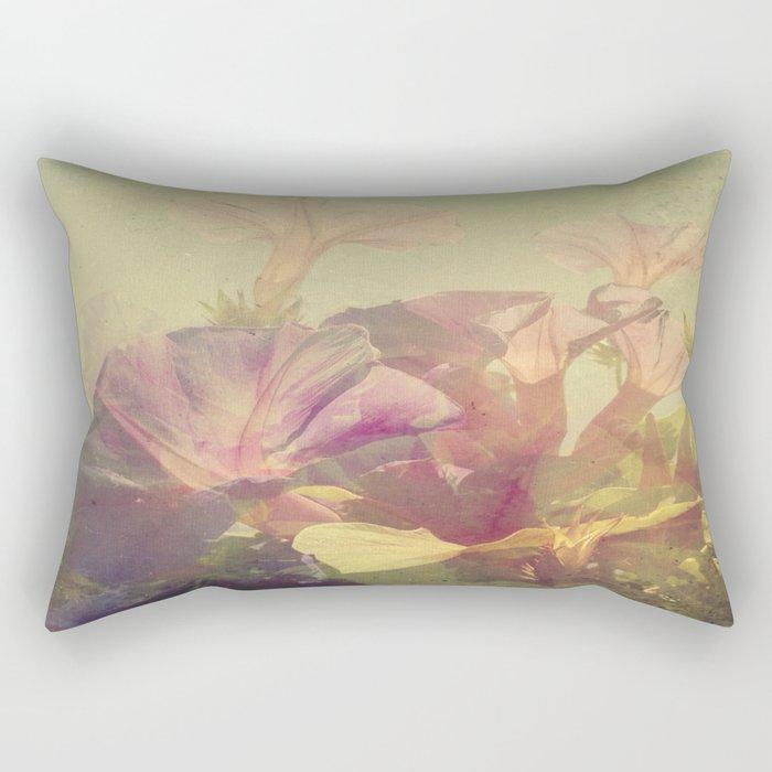 Wild Summer Flowers Rectangular Pillow