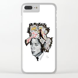 Legends Inspire Clear iPhone Case