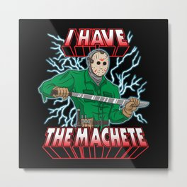 Slashers of the Universe Metal Print