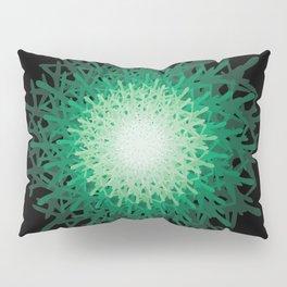 Green riddle Pillow Sham