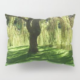 How Still the Tree Photograph and Prose Pillow Sham