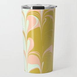 Abstract in Ice Cream Colors Travel Mug