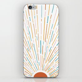 Sunshine All Around iPhone Skin