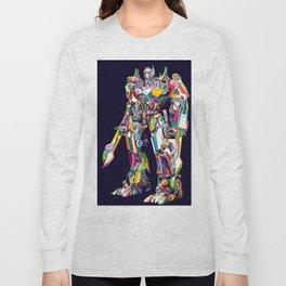 Transformer in pop art Long Sleeve T-shirt