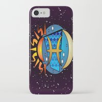 astrology iPhone & iPod Cases featuring Astrology, fish by Karl-Heinz Lüpke