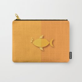 ALphabet_F like Fish Carry-All Pouch