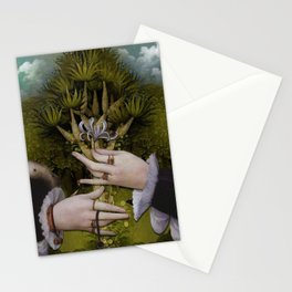 """The hands of Bosch and the Spring"" Stationery Cards"