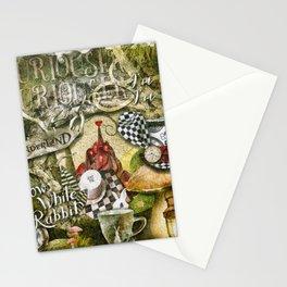 White Rabbit Stationery Cards
