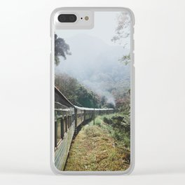 Train Rides in Sri Lanka Clear iPhone Case