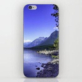 McDonald Lake In Glacier National Park iPhone Skin