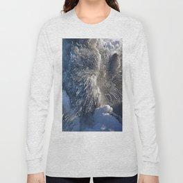Kilauea Volcano at Kalapana 3a Long Sleeve T-shirt