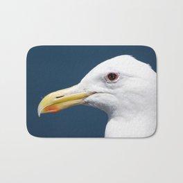 Seagull Portrait2 Bath Mat