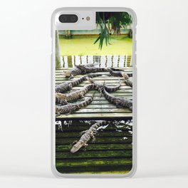 Just Chillin Clear iPhone Case