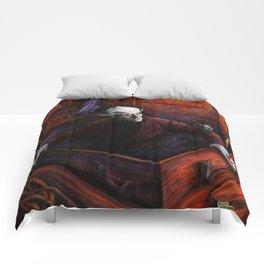 Dracula Nosferatu Vampire King Comforters