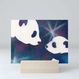 Galaxy Panda Mini Art Print