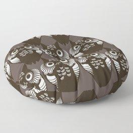 Pollo Black Floor Pillow